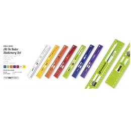 Allin Ruler Stationery Set