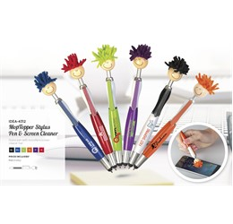 Moptopper Stylus Pen And Screen Cleaner
