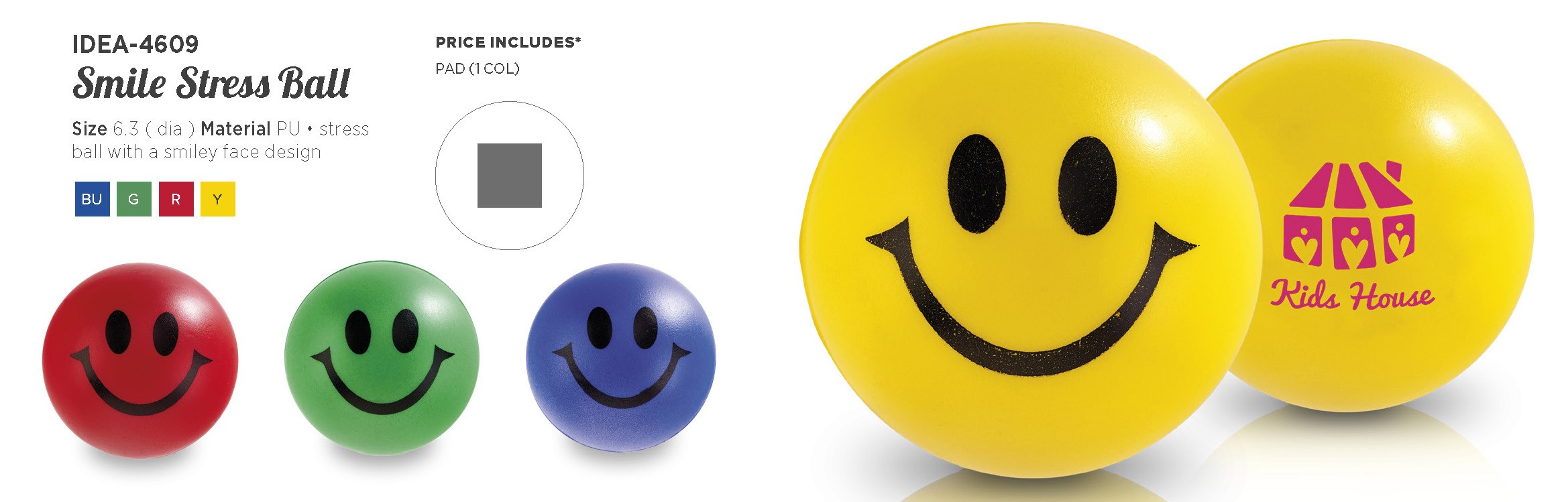 Product: Smile Stress Ball
