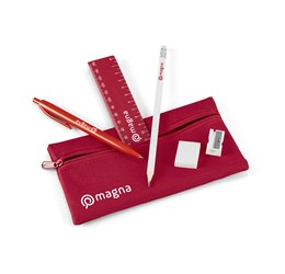 Aptitude Stationery Set  Red Only