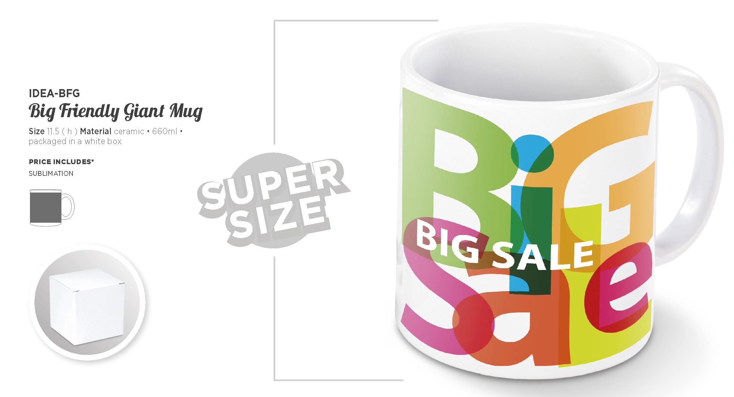 Product: Big Friendly Giant Mug - 660ml